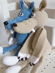 2011_06112Wolf0019 (Pfiffigste Fotos) Tags: wolf pattern amigurumi crocheted häkeln häkelanleitung gehäkelter häkelblog
