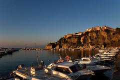 Agropoli from port (Philipp Klinger Photography) Tags: blue sea sky italy orange white mountain water port ship campania yacht amalfi agropoli goldstaraward dcdead
