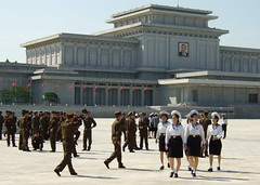 Kim Il Sung Mausoleum (ninjawil) Tags: kim north korea il mausoleum pyongyang sung dprk criticismwelcome