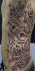 Ribs Tattoo Before color -
