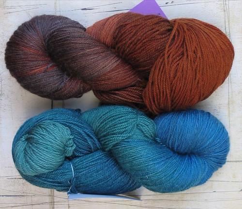 wool superwash knitting heather silk merino nylon schaefer socksyarn