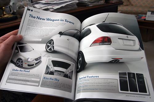 VW Driver Magazine Sportwagen Spread