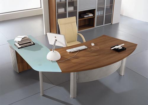 Part Glass Desk