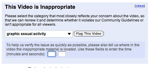YouTube Video Flagging System