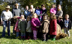 Le jardin d'enfants roule sa bosse