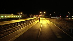 Weak? Coaar! Entire, 'ee says! (harry harris) Tags: station night voigtlander bessa platform greatyarmouth 15mm week46 negscan fujisuperia200 52weeks 1545 spanishagain croppedfromthetop weekfortysix