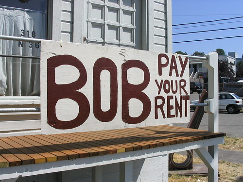 BOB PAY YOUR RENT
