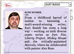 Singapore Writers Festival  Kurt Busiek