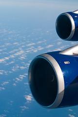 Rolls Royce (Dave Canon) Tags: blue sky colour peru landscape transport engine rollsroyce aeroplane lpwindows