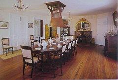 19 Dining Room at Longwood - Natchez, Mississippi (sunnybrook100) Tags: mississippi natchez mansion antebellum longwood adamscounty nationaltrustforhistoricpreservation nthp punkah punkahwallah