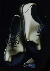 Silver Lace-up Shandals fully lined in Blue leather. 18.6.97 (Alan James Raddon) Tags: uk fashion alan wales shoe for james shoes hand handmade sandals made maker measure hande shoemaker raddon soled alan bunions shandals life still wideshoes shoes raddon rope slippers shandalscom shandalsus shandalscouk bespokeshoes wideshoesforwomen alanjamesraddon extrawideshoes verywideshoes broadshoes verybroadshoes broadfittingshoesuk widefittingshoesuk