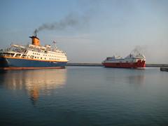 Fähren bei Kreta