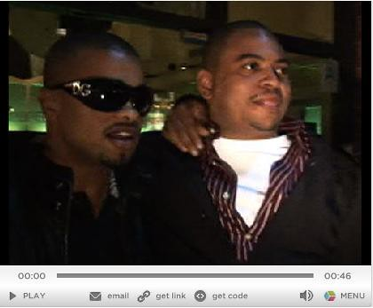 CHRIS STOKES , RAZ B AND and Ricky Romance make up