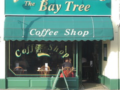 The Bay Tree (thejamesdotramsay) Tags: shop typography coffeeshop dorset highstreet shopfront winton thebaytree
