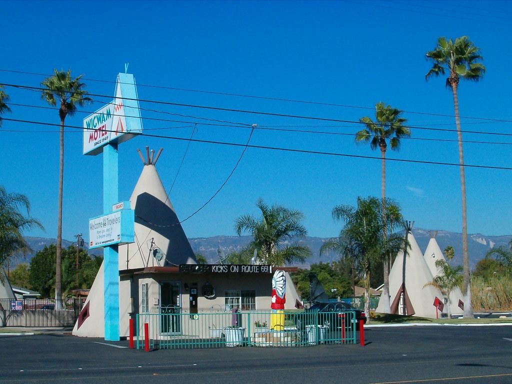 Wig Wam Motel Rialto California