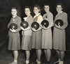 Bowling league! (sparkleneely) Tags: family chicago vintage mom dad 1940s bowling