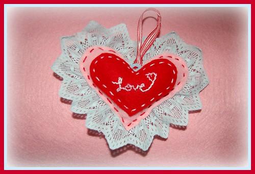 1st valentine stuffie