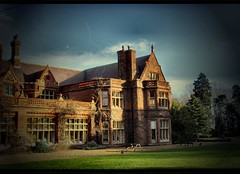 holmewood hall (And Soon the Darkness) Tags: blue sky brick stone digital mansion vignette peterborough holme yaxley supershot samsungdigimax golddragon theperfectphotographer holmewoodhall pointlessteambuilding middlemanagementgames wellatleastthefoodwasgood andtherewereorbstoo