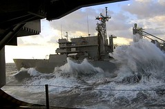 Rough Seas (US Navy) Tags: ocean sea ship military navy naval job usnavy careers career ussharrystruman carrierstrikegroup