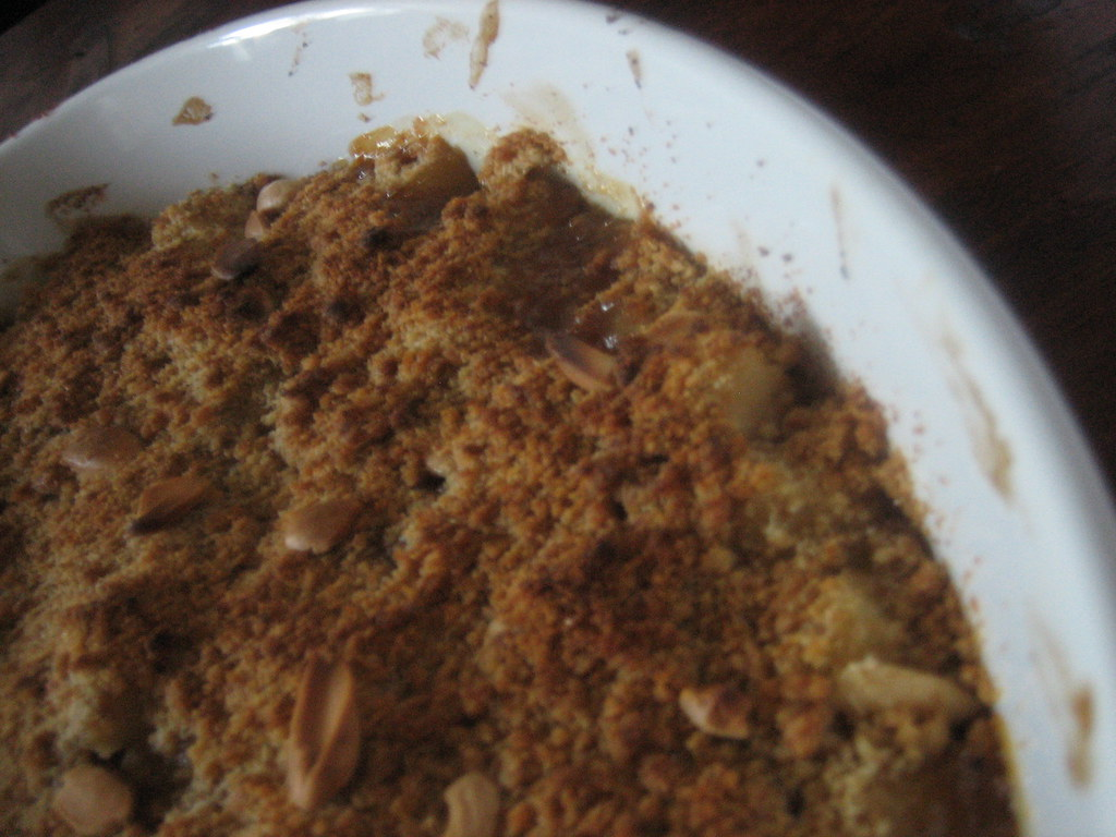 Pear and ginger crumble (1)
