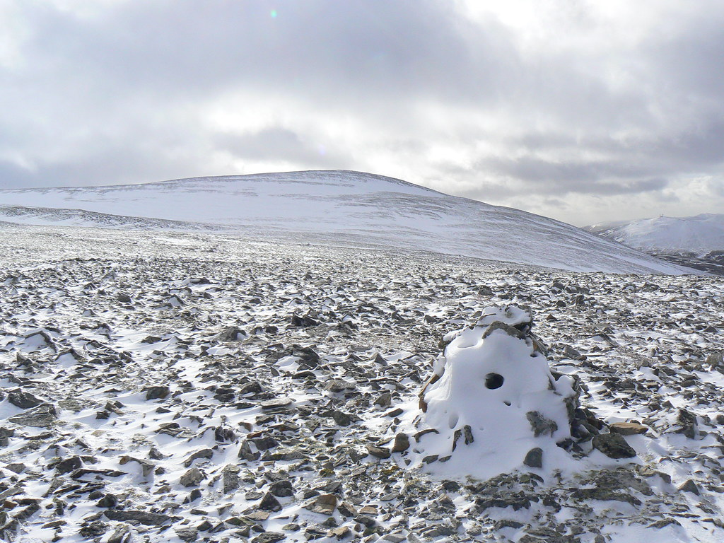 Summit of Carn an Tuirc beyond