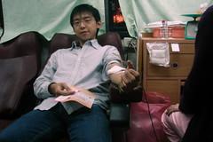 來燈會捐血 XD