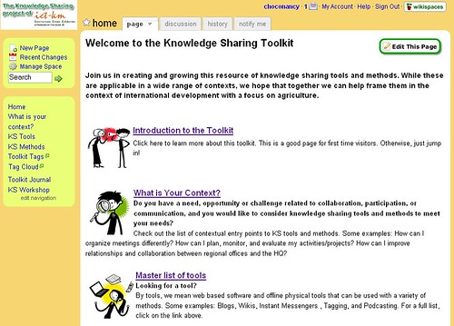 screen shot of KS Toolkit