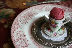 Tea for Three (rissy.janée) Tags: silver silverware tea dishes teacup sorbet flatware