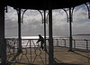 Bicycle frame (Mr Grimesdale) Tags: liverpool sony merseyside otterspool rivermersey cylce mrgrimsdale stevewallace dsch2 mrgrimesdale grimesdale
