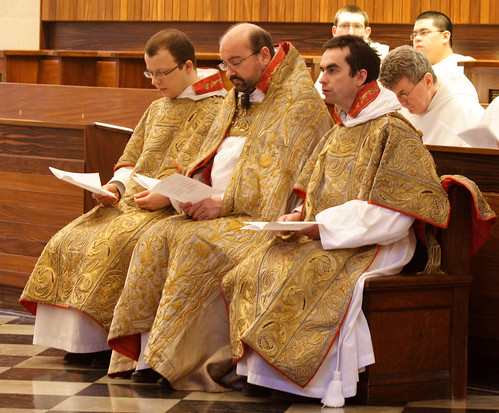 Sacred Ministers at Vespers