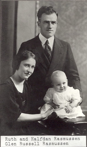 Ruth, Halfdan, and Glen Rasmussen