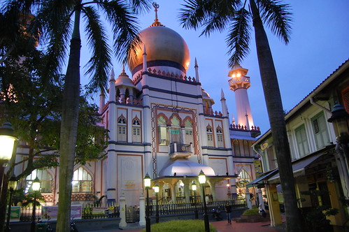 The great mosque in Singapore