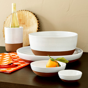 West Elm Terracotta Entertaining Collection