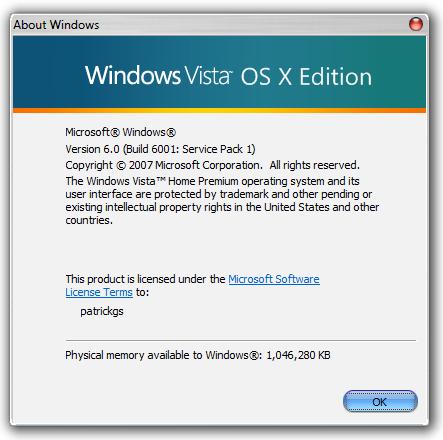Vista OS X v3