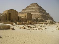 pyramids Saqqara