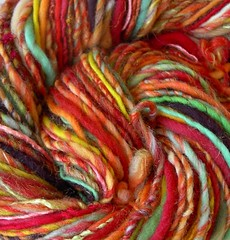 flameflower handspun
