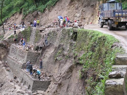 Border Roads Organization (BRO) at work
