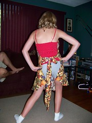 Sassy apron fall swap 2