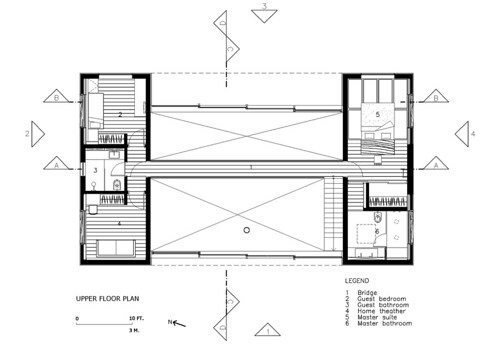 House Iporanga 2nd Floor Plan
