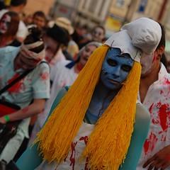 DSC_3322 (rcorp) Tags: prague zombie walk praha 2009 smurfette zombiewalk šmoulinka
