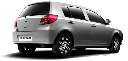 Geely MK RSi: Hatchback Chino Compacto