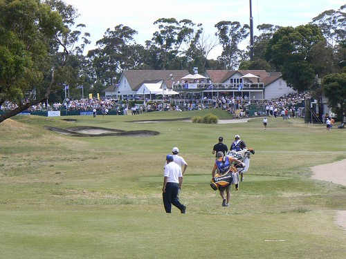 Huntingdale Golf course during the masters