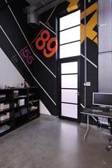 Room #3 detail (Official Classic) Tags: panorama color wall studio office hungary view pano budapest decoration 360 retro numbers helvetica postproduction branding gyr officialclassic