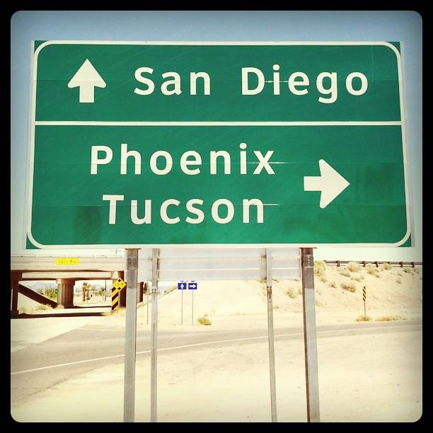 To Tucson we go!