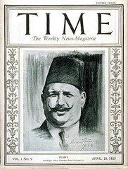 King Fouad I on the cover of the time (Kodak Agfa) Tags: people history media egypt cover magazines timemagazine egyptians coverboy