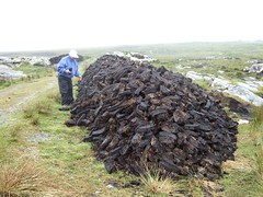 164 Peat pile (Esther/Mark) Tags: ireland peat