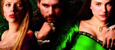 Eric Bana, Scarlett Johansson y Natalie Portman en el póster de 'The other Boleyn girl'
