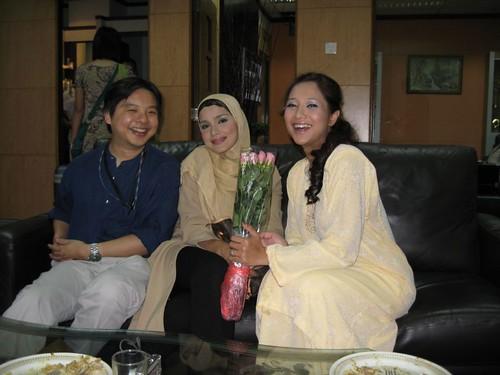 me and wardina and azizah