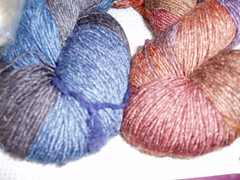 boy and girl sock yarn