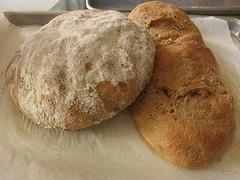 Potato Rosemary Bread with Roasted Garlic